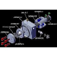 Bomba hidráulica Brushless M3 con depósito integrado