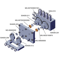 Válvula repartidora 2 vías - TUBERÍA 4mm
