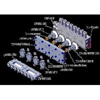 Válvula repartidora 4 vías - TUBERÍA 4mm