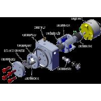 Pompe hydraulique brushless M3 avec réservoir intégré + Moteur