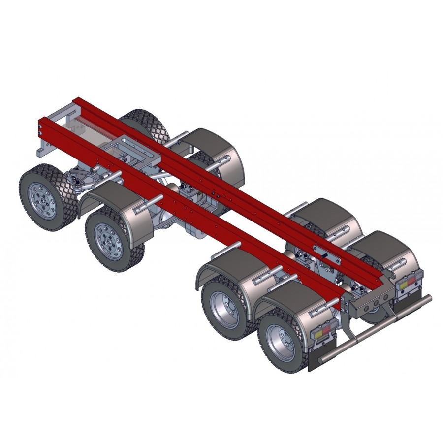 Chasis para camión 8x8 - SERVO - 1:16
