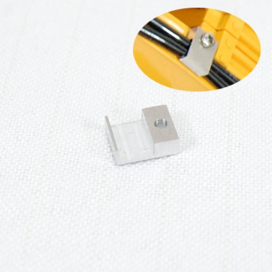 Abrazadera 2 líneas para tubería 3 mm