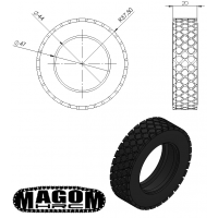 Neumático para camión tipo 1 (1)
