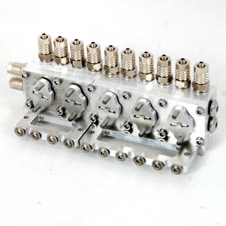 Válvula repartidora 5 vías - TUBERÍA 4mm