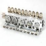 5-Fach Hydraulikventile - 4mm SCHLAUCH