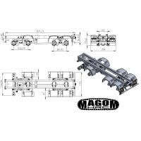 Chasis + grupos para camión 8x8 - servo