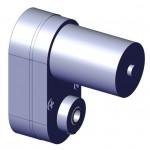 Caja reductora con motor 70 rpm - V1 - Eje de 4 mm