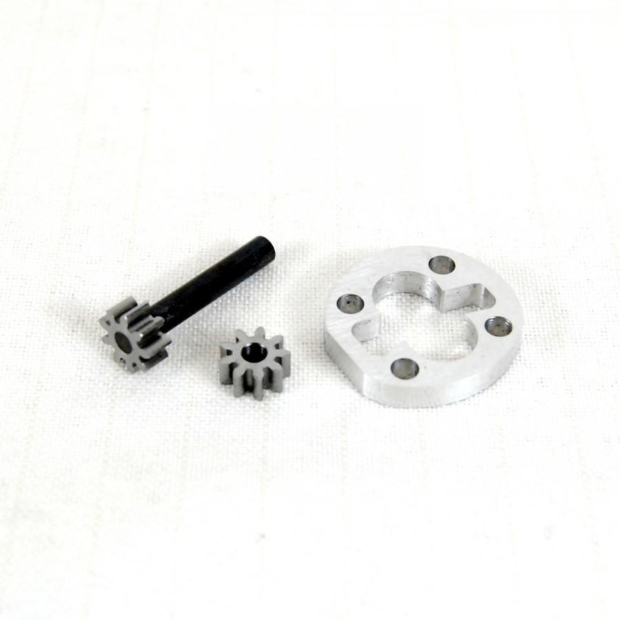 Kit de piñones de acero para bomba brushless con depósito