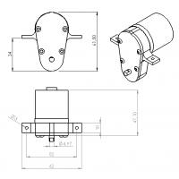 Arandela tapón delantero 15 mm