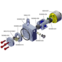 Bomba hidráulica Brushless M5 con depósito integrado + Motor