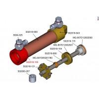 Frontkappe für 18mm Hydraulikzylinder M5