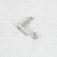 Pin realista de maquinaria - cabeza corta 18 mm