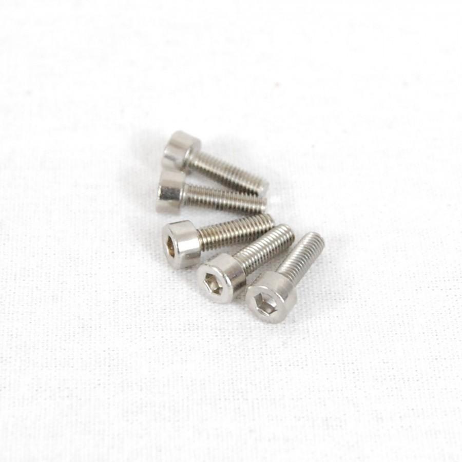 Packung (5) M3 x 6 Zylinderschrauben mit Innensechskant