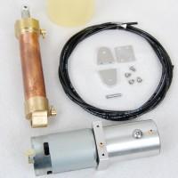 Kit hidráulico para volquete de Carson (Bomba Brushed)