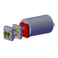 Placa motor para bomba hidráulica Brushed sin depósito