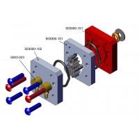 Placa motor para bomba hidráulica Brushless mini sin depósito