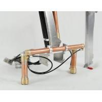 Kran mit 1 Verlängerung für LKW 1/16 - 1/14 + Hydraulik