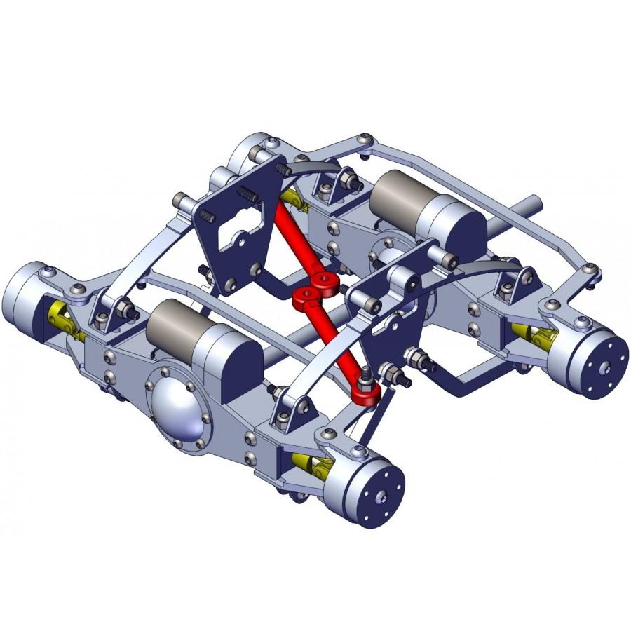 Barra servo para eje delantero (1)