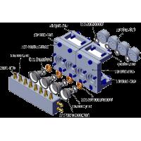 Válvula repartidora 4 vías V2 - TUBERÍA 3mm