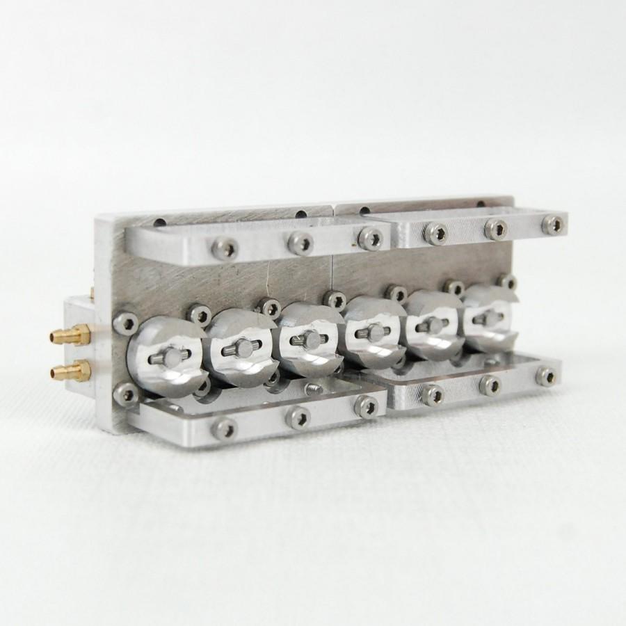 Válvula repartidora 6 vías V2 - TUBERÍA 3mm