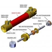 Tubo latón - botella hidráulica 10mm