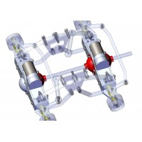 Tapa bloque diferencial - servo (1)