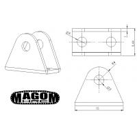 Triángulo suspensión para eje doble (2)