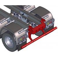 Soporte trasero completo para chasis - 6x6 - 1:16