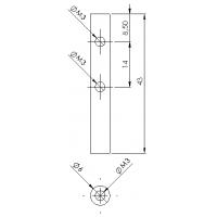 Casquillo guardabarro trasero - 6x6 (1)