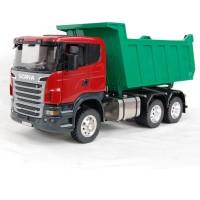 Camión Scania R560 6x6 - volquete verde