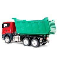 Scania R560 6x6 LKW-Kipper - grüner Kipper