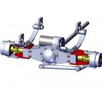 Portamangueta suspensión para eje delantero (1)