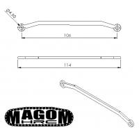 Barra de dirección para eje delantero (1)