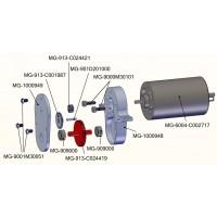 Engranaje de tracción para caja transfer - camión SD /  L574