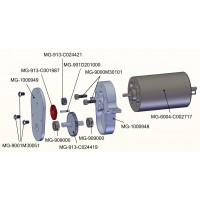 Engranaje conducido para caja transfer - 31/10z - camión SD / L574 / 973D-V2