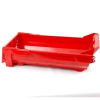 Volquete rojo de Bruder para camión 6x6