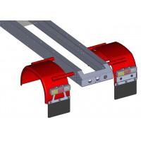 Pareja de guardabarros traseros de metal - 4x4 - 1:16