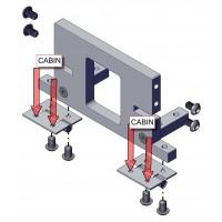 Cabin Unterstützung System für Bruder MAN TGS - 1:16
