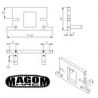 Sistema soporte de cabina para Bruder MAN TGS - 1:16