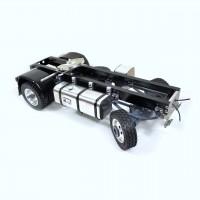 Chassis + Wellen + Räder + Zubehör für 4x4 LKW - servo