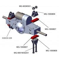 Porta-ballesta para eje trasero (2)