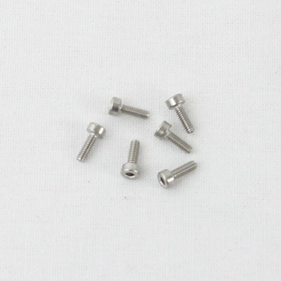 Packung (5) M2 x 6 Zylinderschrauben mit Innensechskant