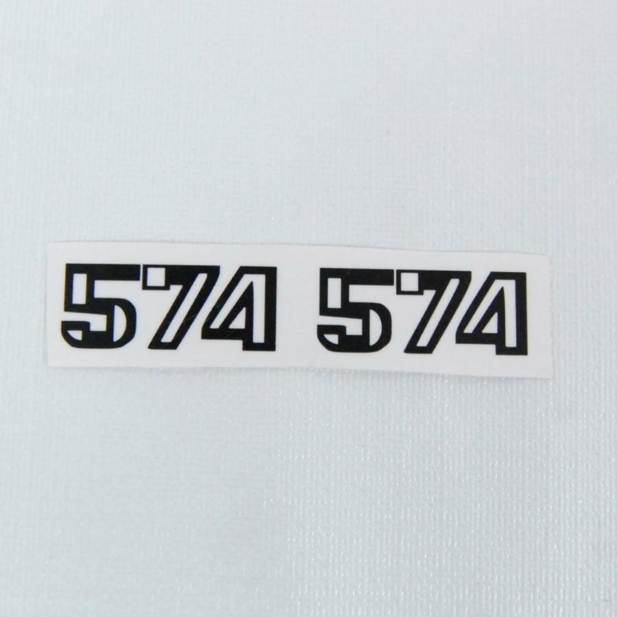 Pegatinas brazo L574