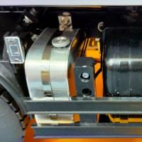 Hydraulic tank - Mercedes Arocs 4151 - Tamiya