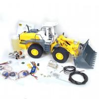 L574 1/16 alle Metall Radlader KIT + Hydraulikset + Elektronikset