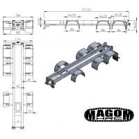 Chasis completo para camión 8x8 - SD