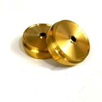 Brass 330D driven wheel (2)
