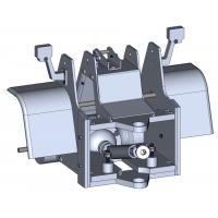 Front frame part for wheel loader