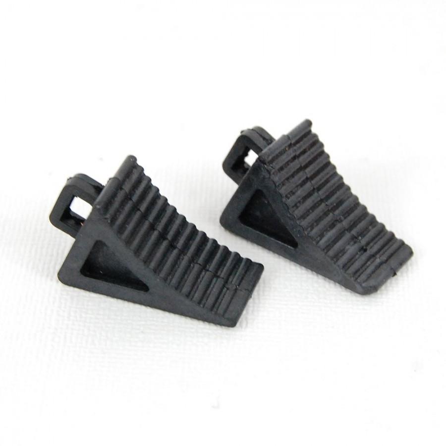 Calzos de rueda (2) Negro