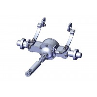 Hydraulic pump MG-HR7 900mL + Brushless motor